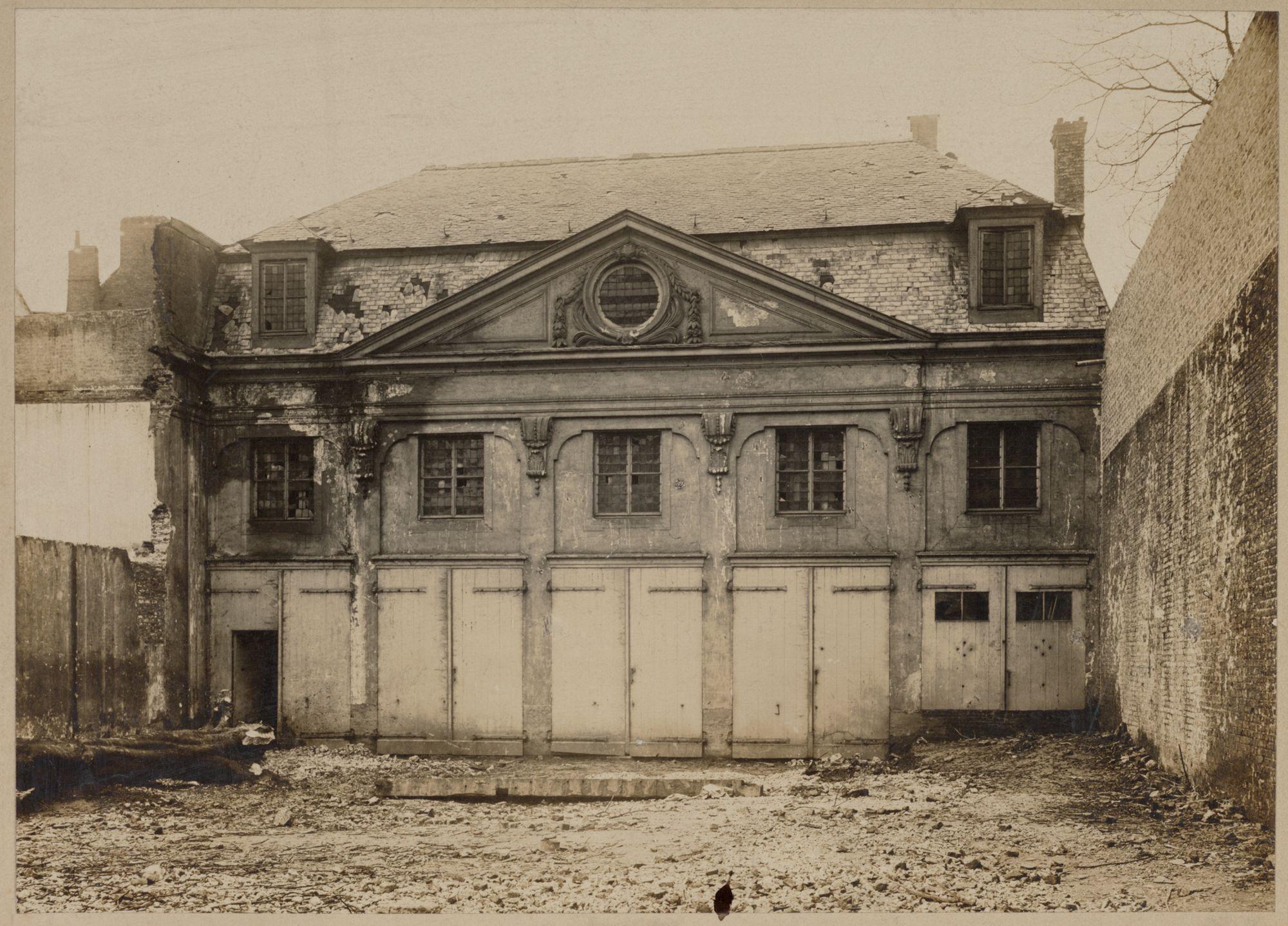 Afbeelding gent huis de ghellinck d 39 elsegem lievestraat for Huis met tuin gent