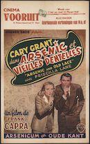Arsenic and Old Lace   Arsenic et vieilles dentelles   Arsenicum en oude kant, Vooruit, Gent, 7 - 13 maart 1947
