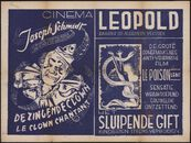 Le clown chantant | De zingende clown (film 1), Le poison lent | Het sluipende gift (film 2), Cinema Leopold, Gent