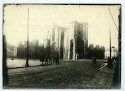 Gent: Sint-Veerleplein en  Gravensteen, 1915-1916