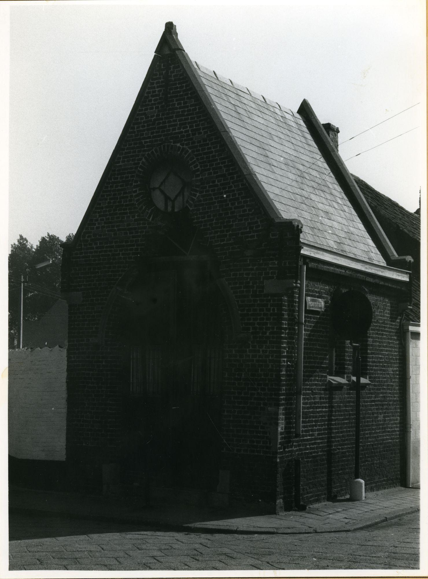 Oostakker: Ledergemstraat: Kapel, 1979