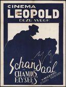 Schandaal in Champs Elysées, Cinema Leopold, Gent, oktober 1949