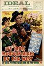 Les Trois Mousquetaires du Far-West   De Drie Musketiers van de Far-West, Ideal, 2 - 8 maart [1954?]