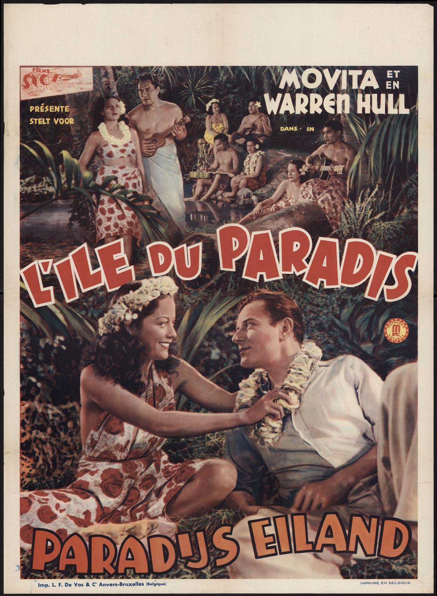 L'île du paradis   Paradijs eiland, Gent, [1940?]