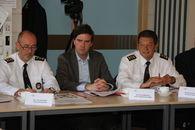 Brandweer bezoek minister Jambon