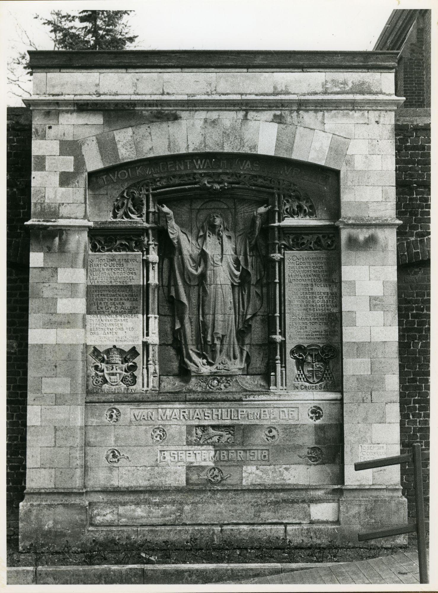 Oostakker: Gentstraat: Monument