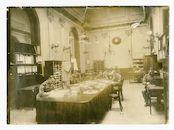 Gent: Kouter: Paßzentrale (paspoortenbureau) in het gebouw La Concorde: Hauptbüro (hoofdbureau), 1915-1916