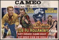 The Badlanders | L'or du Hollandais | Het goud van de Hollander, Cameo, Gent, 16 - 22 oktober 1953