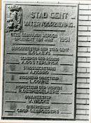 Gent: Kattenberg 2: Gedenksteen, 1979