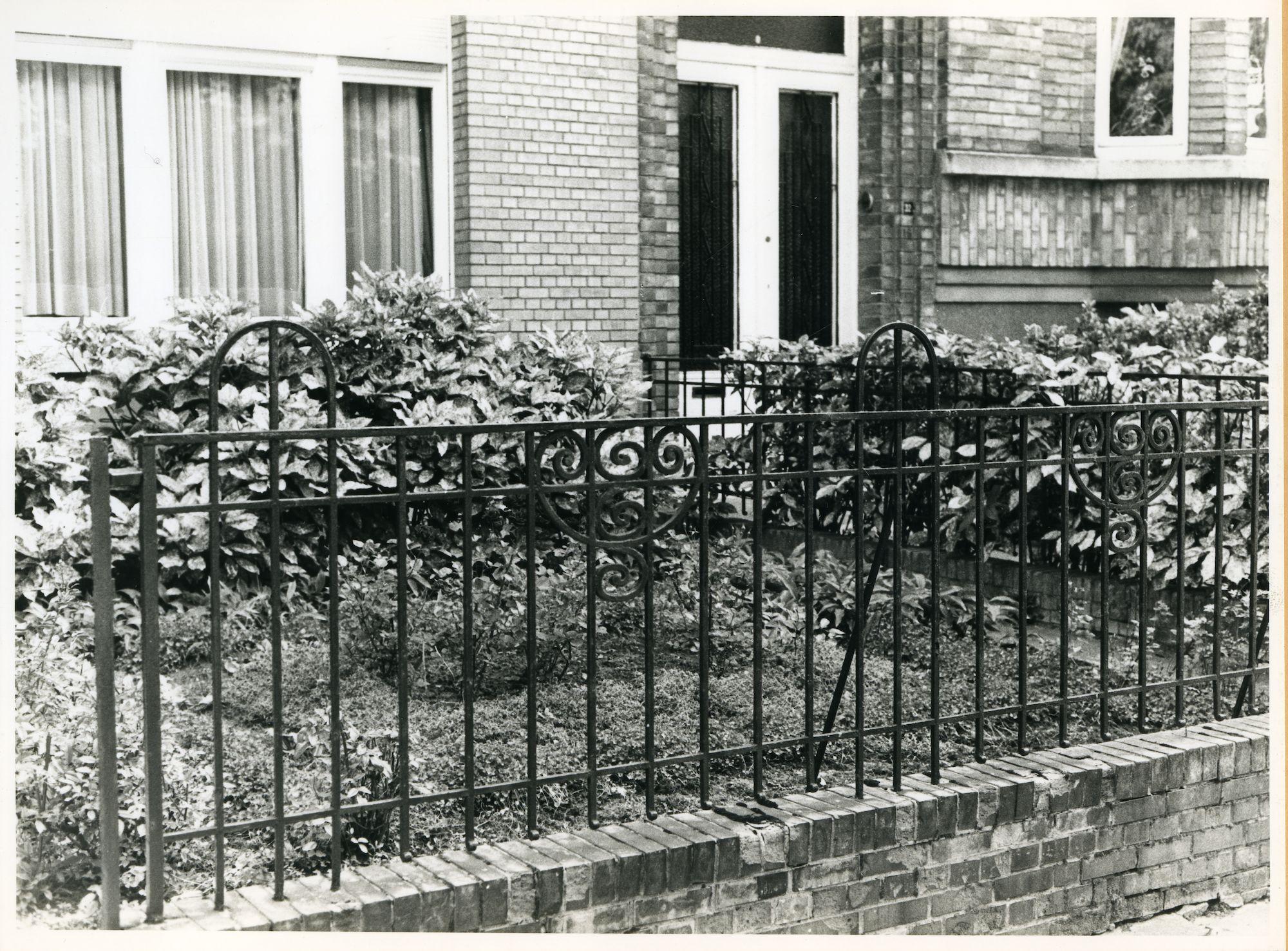 Gent: Onafhankelijkheidslaan 29-31: Hek, 1979