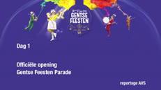 Gentse Feesten 2014 dag1 Opening en Parade AVS.mov