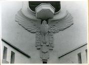 Gent: Patijntjesstraat 10-14: Beeldhouwwerk, 1979