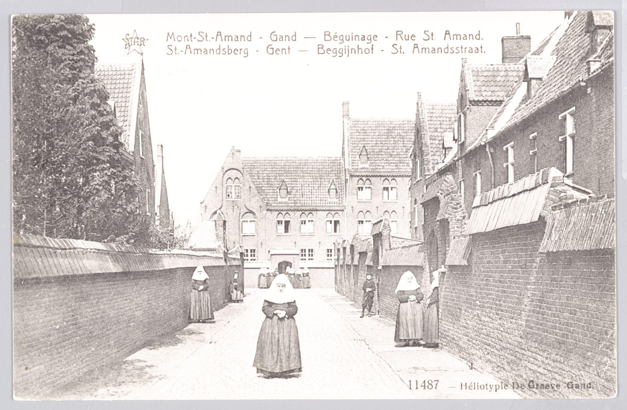 Sint-Amandsberg: Groot Begijnhof: Sint-Amandsstraat