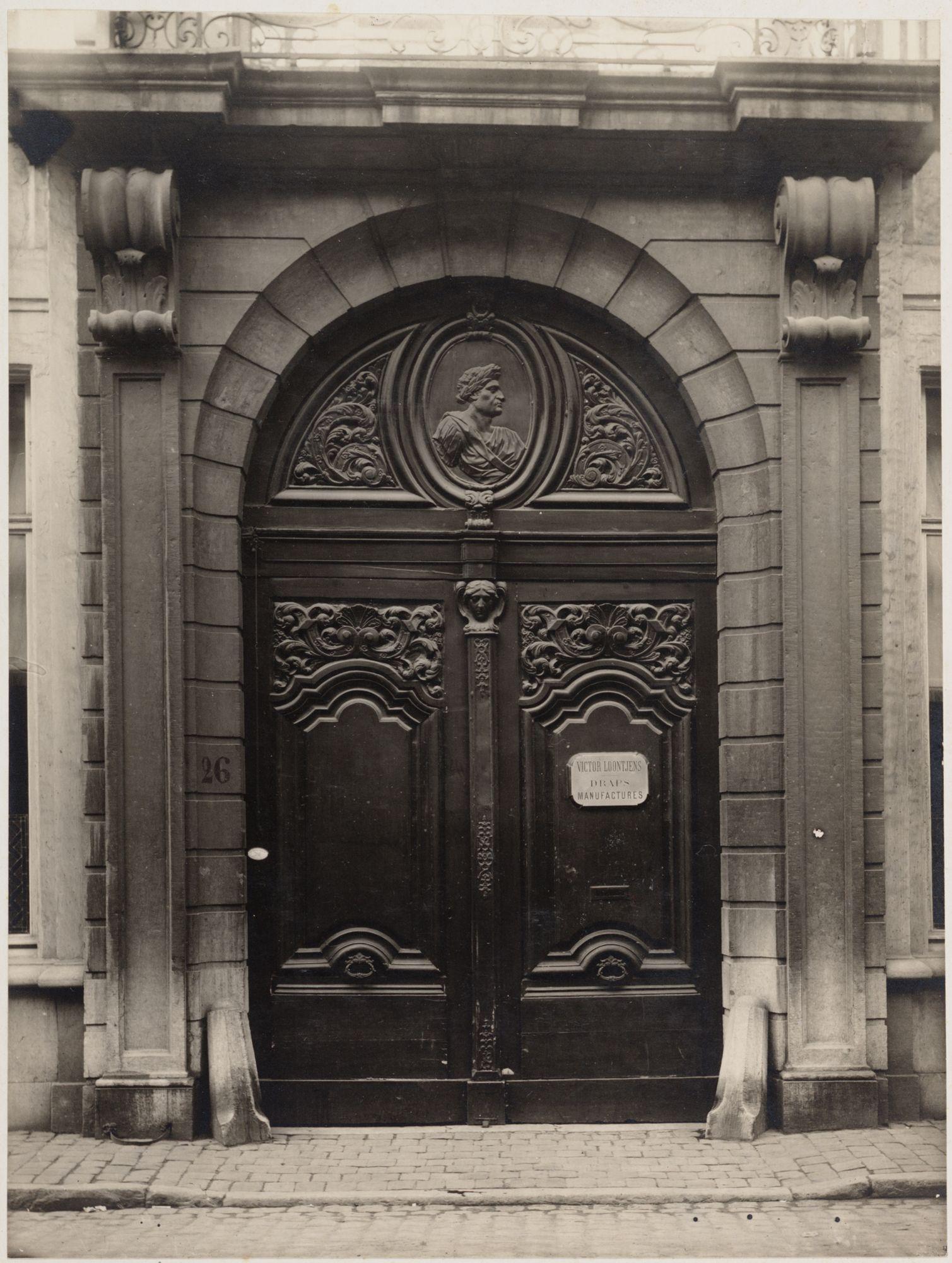 Gent: Huis Loontjens (gordijnenatelier), Burgstraat 26