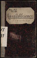 Afficheregister 1937-1938