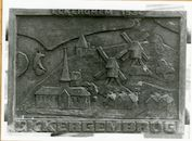 Gent: Ekkergembrug: gedenkplaat: Eckerghem 1534, 1979