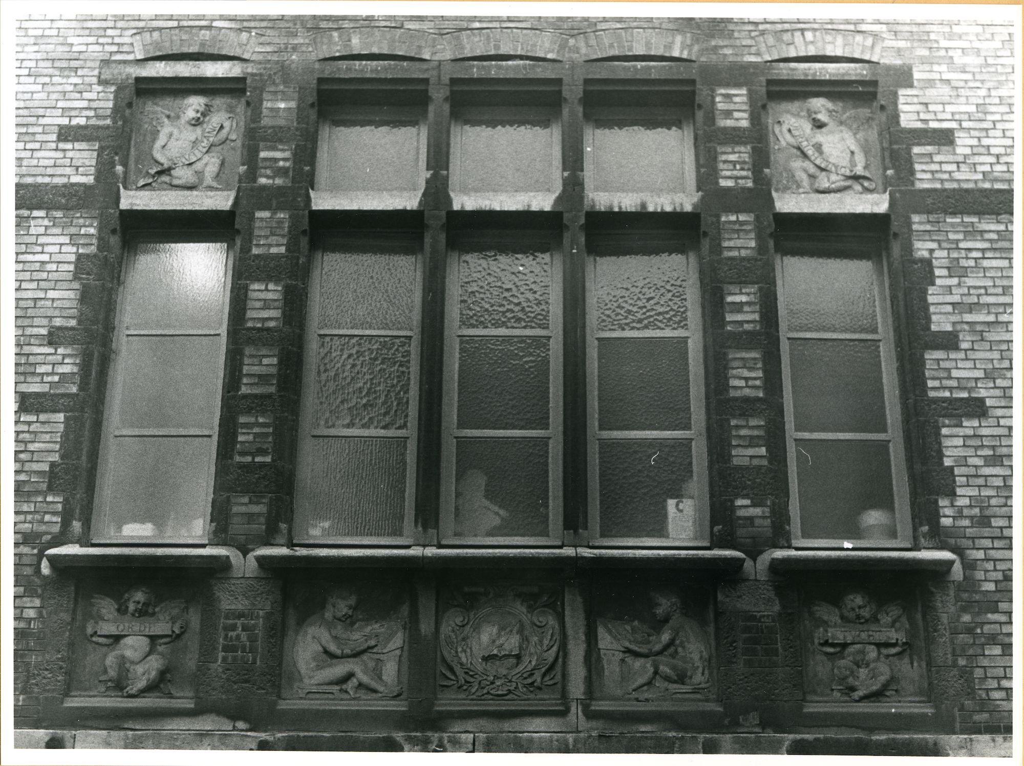 Gent: Onderstraat 10: Gevelstenen, 1979