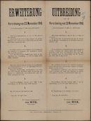 Erweiterung van Verordnung van 23 November 1916 (Verordnungsblatt Nr 56, Seite 477-478) | Uitbreiding van de Verordening van 23 November 1916 (Verordeningsblad Nr  56, blz 477-478)