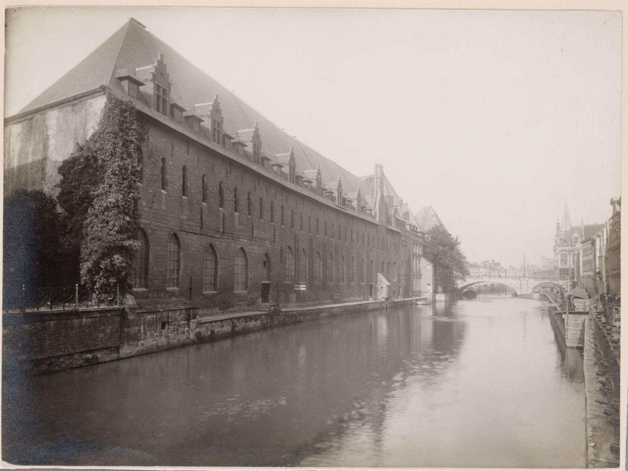 Gent: Predikherenlei: Dominicanenklooster