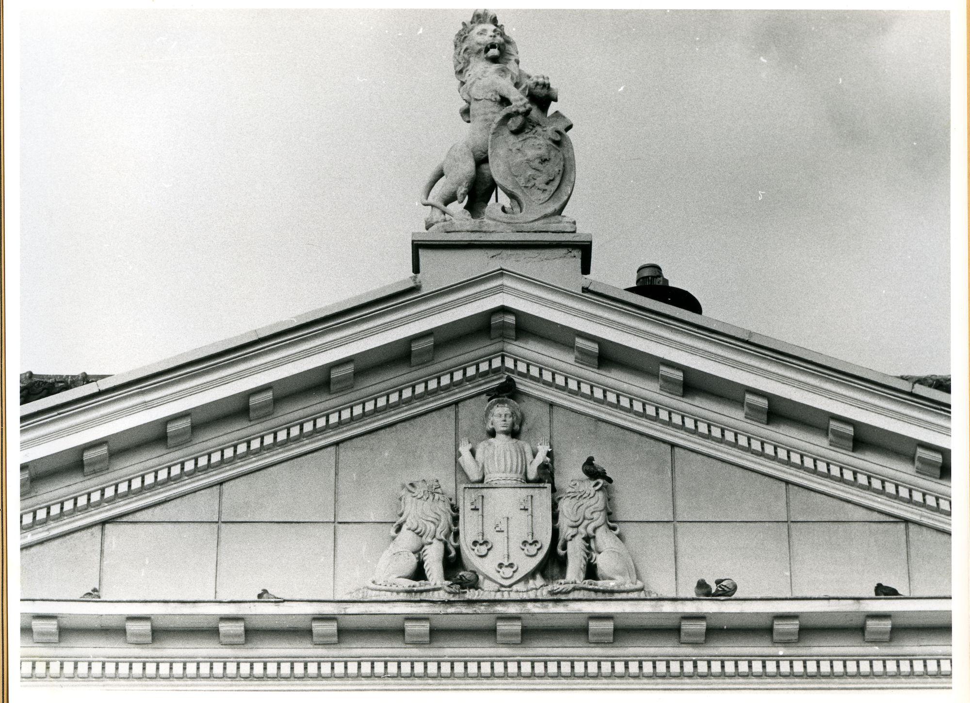 Ledeberg: Ledebergplein: Gevelbeeld, 1979