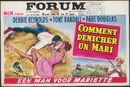 "Comment dénicher un Mari | Een man voor Mariette | ""The mating game"", Forum, Gent, 17 - 21 juni 1960"