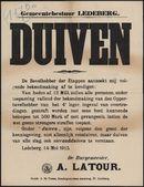 Gemeentebestuur Ledeberg, Duiven.