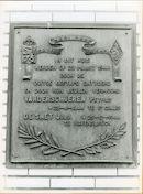 Ledeberg: Langestraat 81: Gedenkplaat, 1979