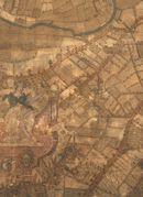 Ledeberg-Zuid, Gentbrugge-Zuid en Merelbeke-Noord: kaartdeel 12 (XII) van de Kaart van Gent en het Vrije van Gent afgebakend door de Rietgracht, Jacques Horenbault, 1619