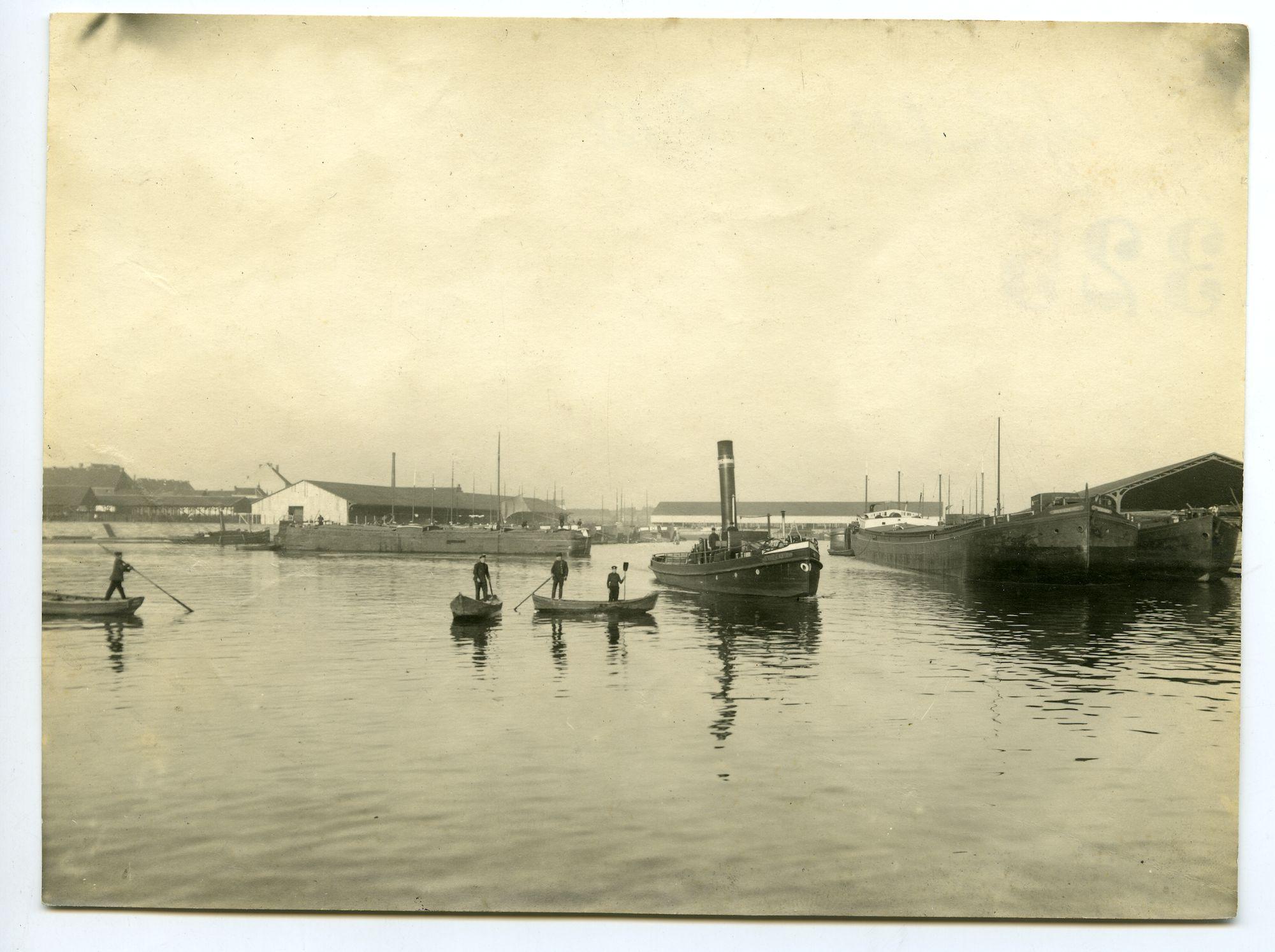 Gent: Sifferdok, 1915-1916