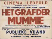 Het graf der mummie (film 1 ), Publieke vijand (film 2), Cinema Leopold, Gent, augustus 1949