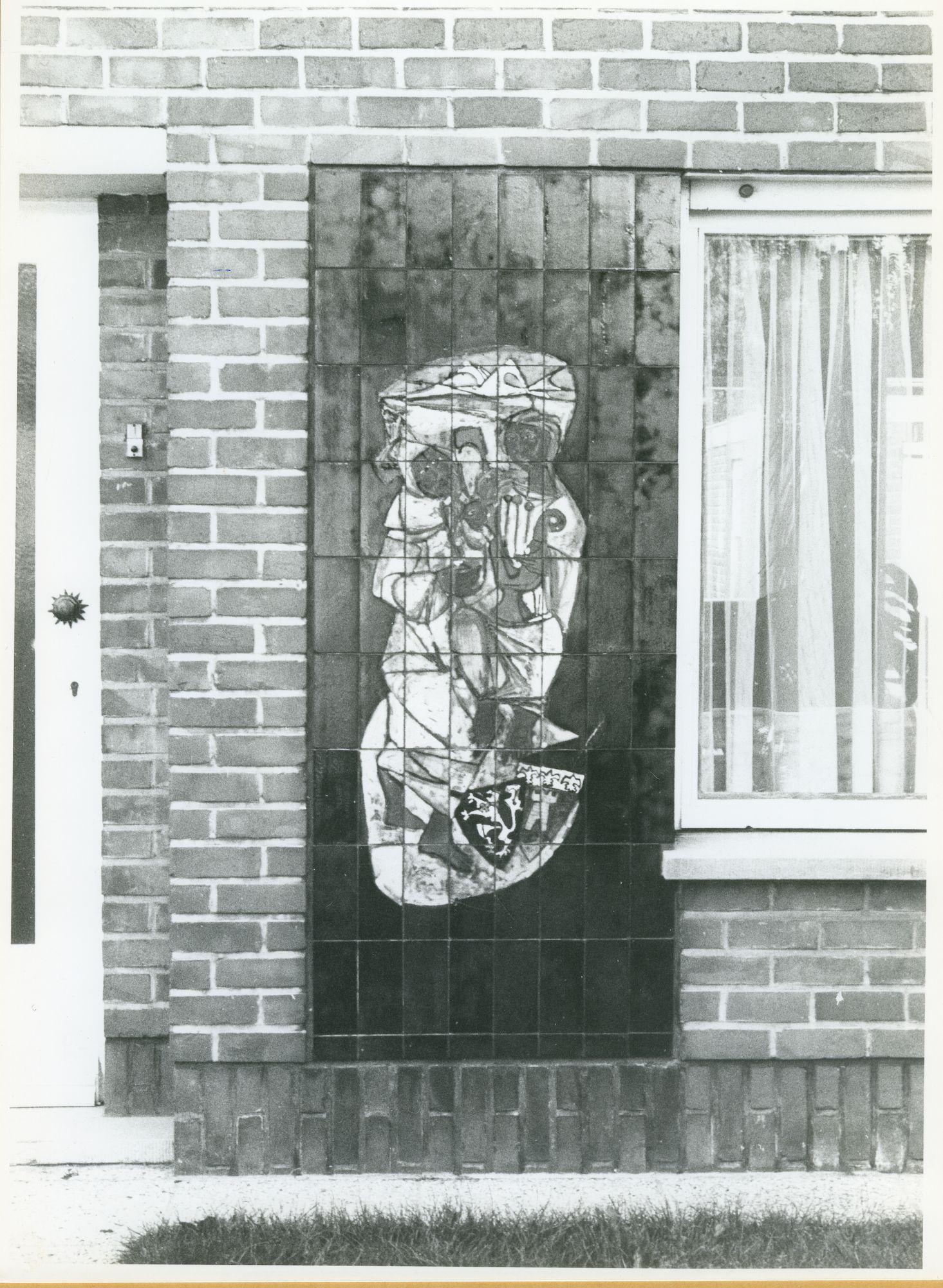 Wondelgem: Meikeverlaan 31: Gevelversiering, 1979