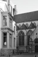 Gent: Onderbergen: Hof van Ravenstein en Sint-Michielskerk