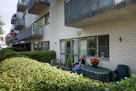 appartementsgebouw op poten Sint-Godelievestraat