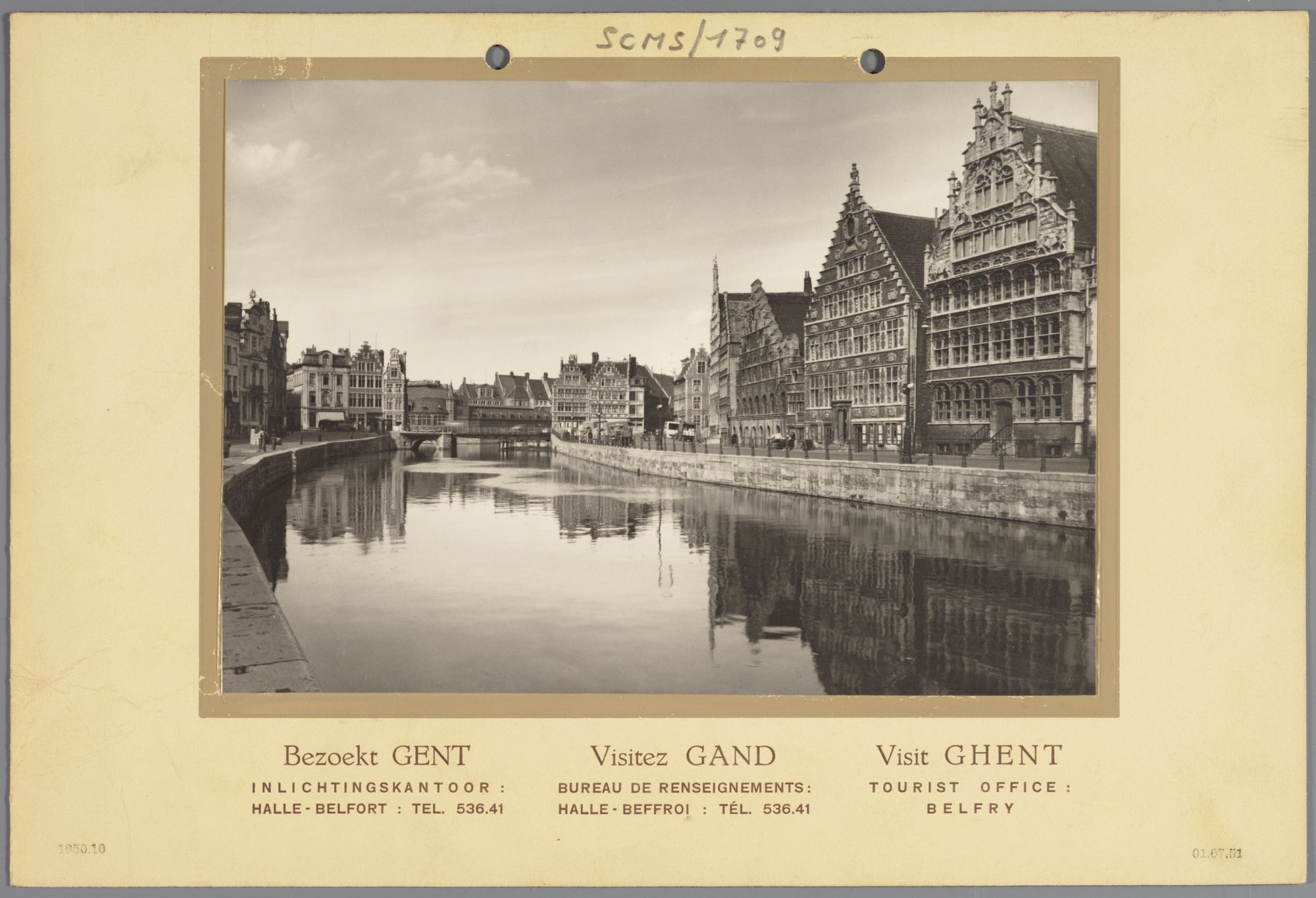 Gent: Korenmetershuis en Huis Vrije Schippers, Graslei
