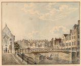 Gent: Vleeshuisbrug en Groot Vleeshuis (noordgevel)