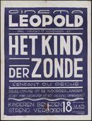 L'enfant du pèché   Het kind der zonde, Cinema Leopold, Gent, 17 november 1950