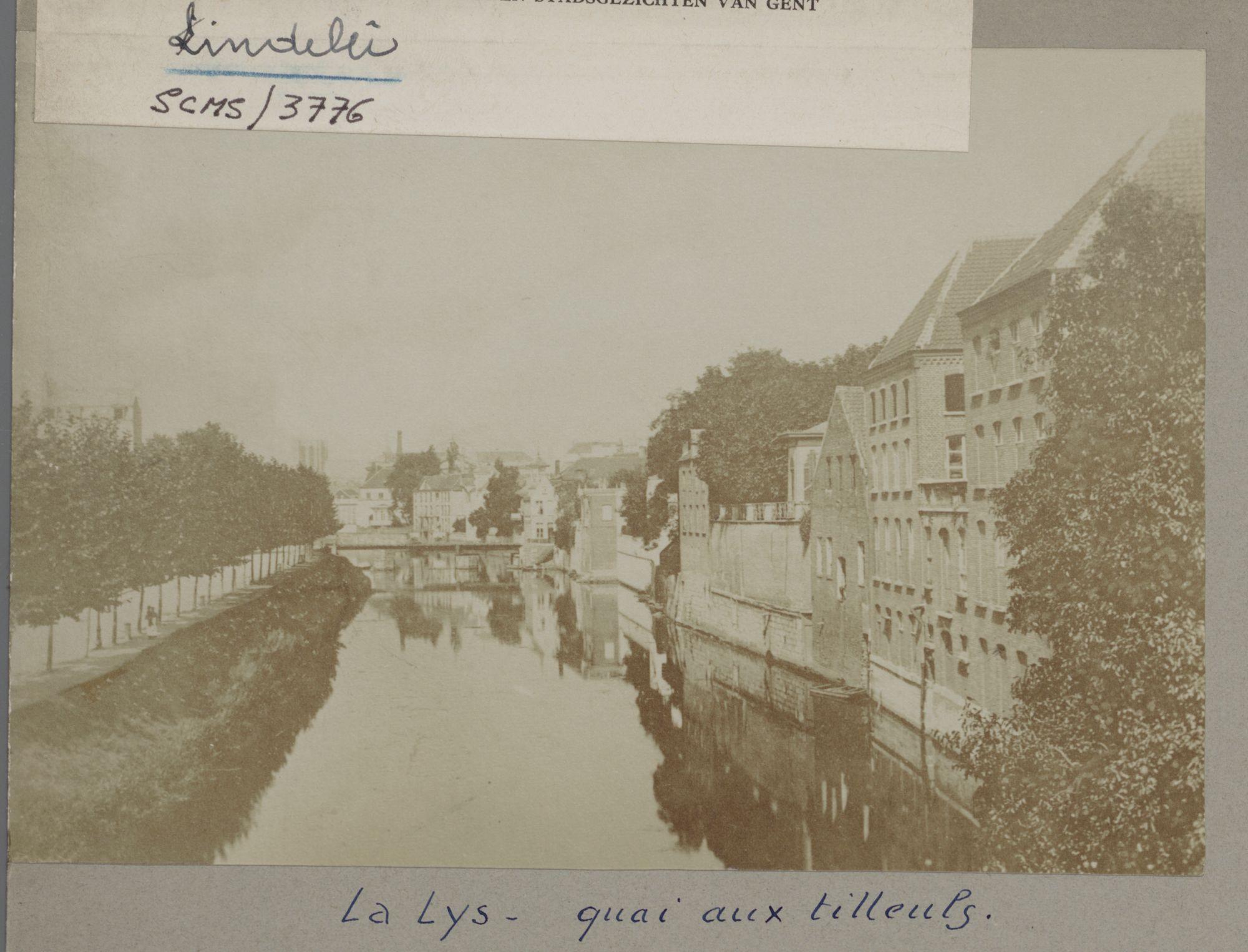 Gent: De Leie aan de Lindenlei