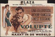 Go Naked in the World   Volupté   Naakt in de wereld, Plaza, Gent, juni 1961