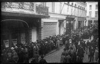 Gent: Sint-Pietersnieuwstraat: cinema Nieuwe Cirk (Wintercircus), 1931