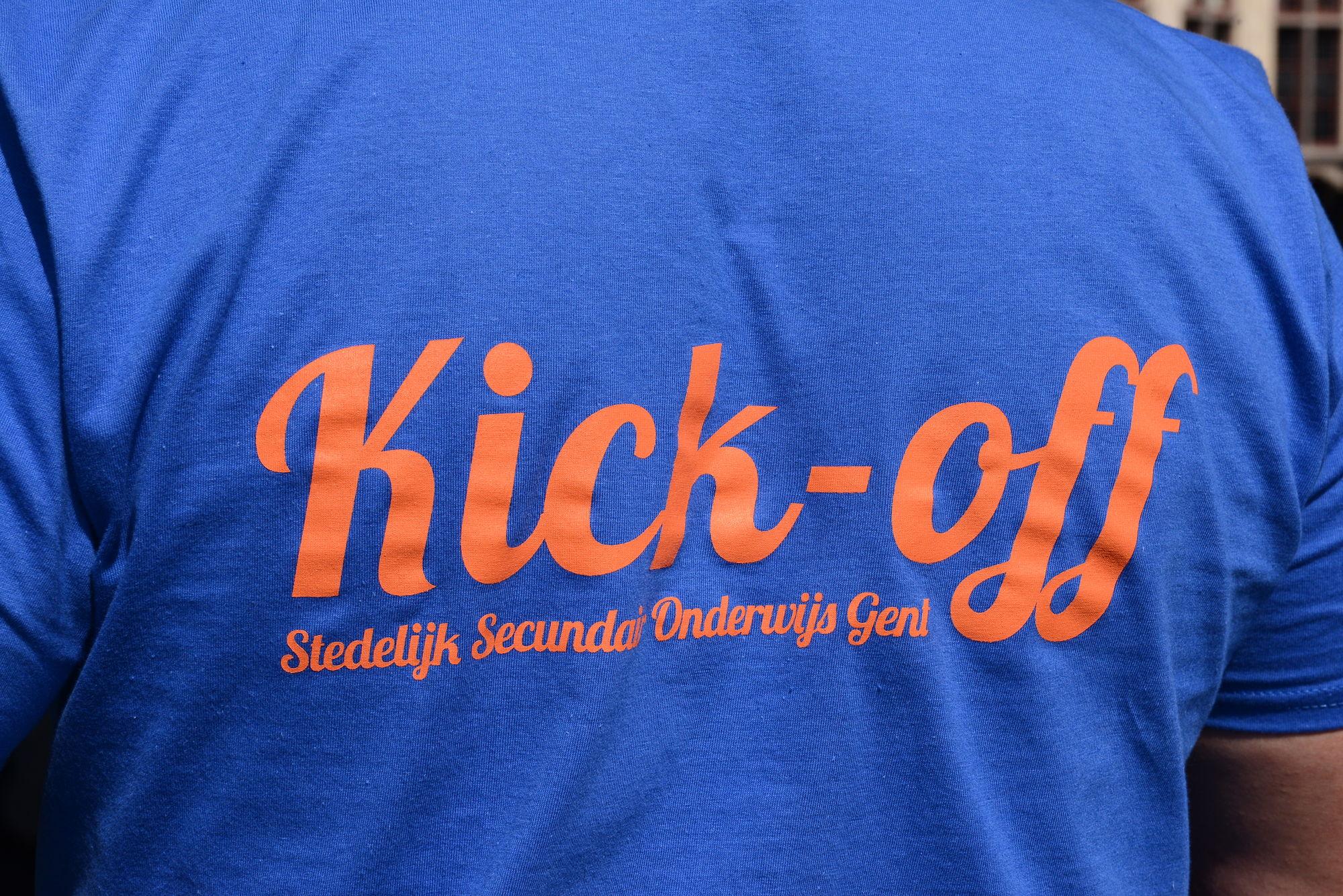 Kickoff Stedelijk Secundair Onderwijs Gent 31/8/16