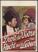[La loupiote] | Le droit de vivre | Het recht om te leven, [Majestic], Gent, [10 - 16 oktober 1941]