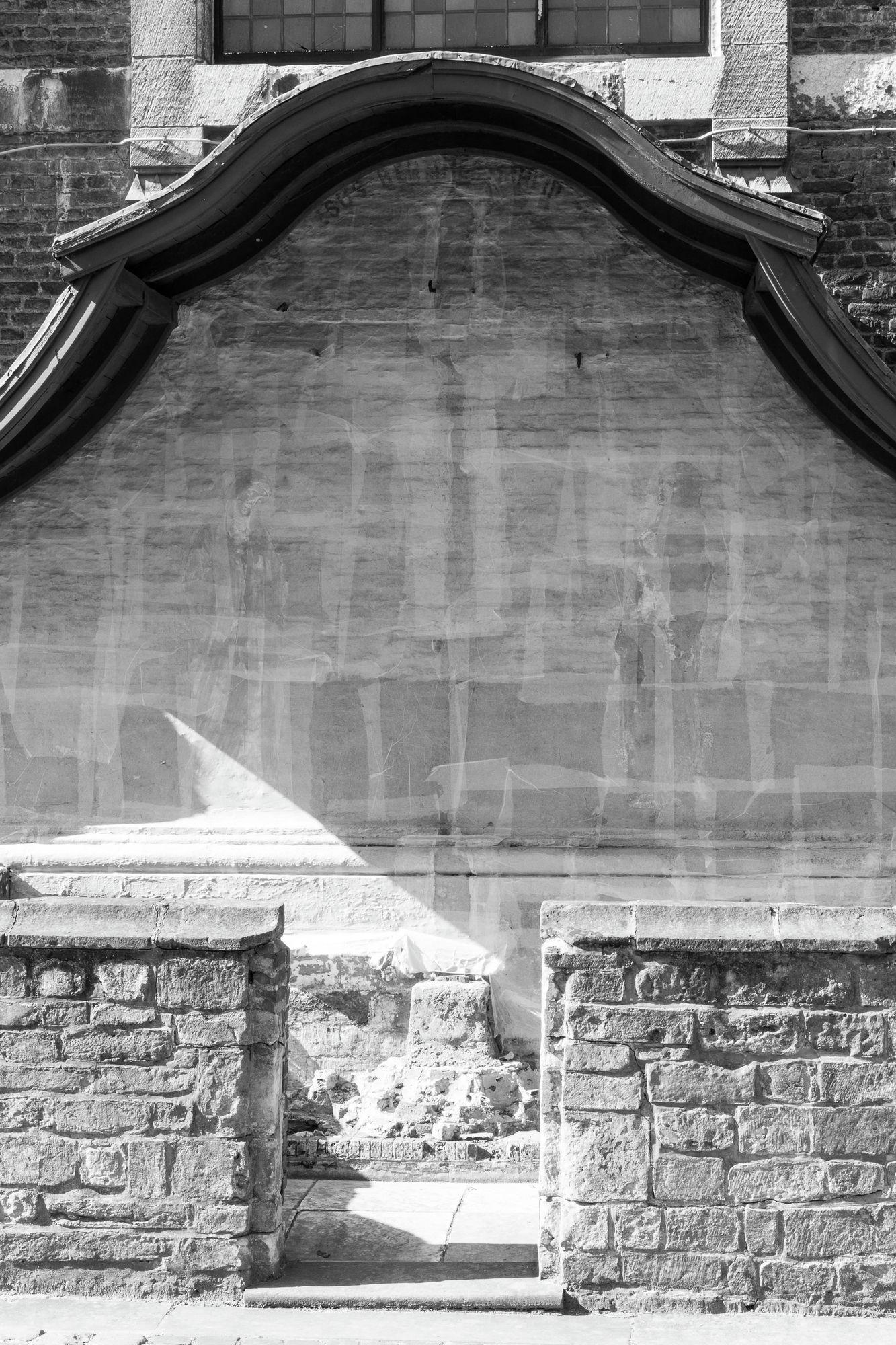 Gent: Klein Begijnhof Onze-Lieve-Vrouw Ter Hoyen: Calvarie