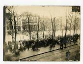 Gent: Kouter: militaire nieuwjaarsparade, 1 januari 1916