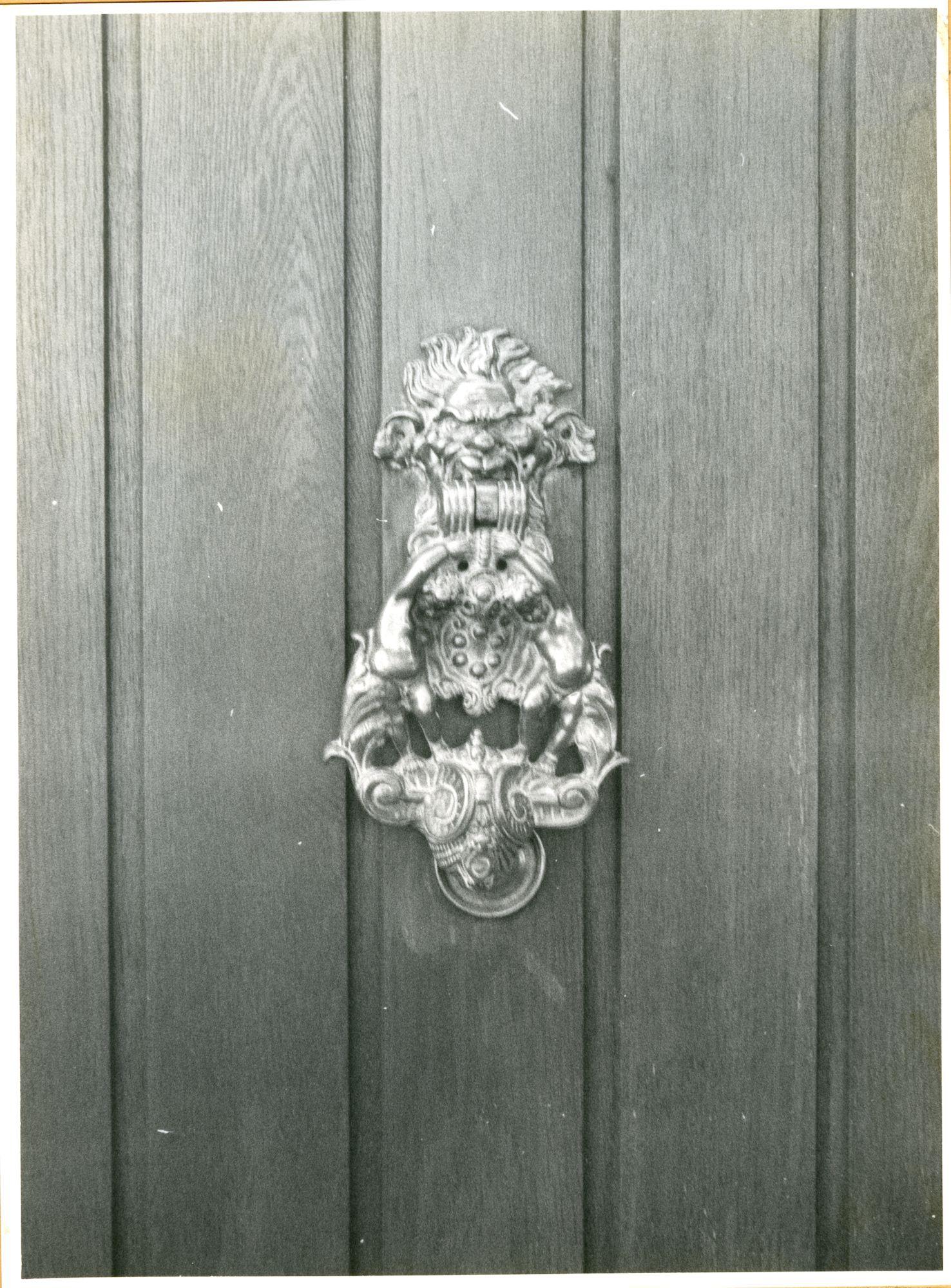 Oostakker: Ledergemstraat 7: Deurklopper, 1979