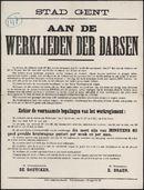 Stad Gent, Aan de werklieden der darsen.