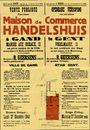 Openbare verkoop van een schoon handelshuis te Gent, Vogelmarkt, nr.12, Gent, 27 december 1948