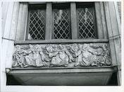Gent: Onderstraat 15: Beeldhouwwerk, 1980