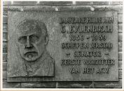 Gent: Gustaaf Eylenboschplein 34: gedenkplaat: Gustaaf Eylenbosch, 1979