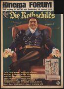 Die Rothschilds, Kinema Forum, Gent, 22 - 28 januari 1943