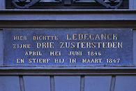 Gedenkplaat - Karel Lodewijk Ledeganck